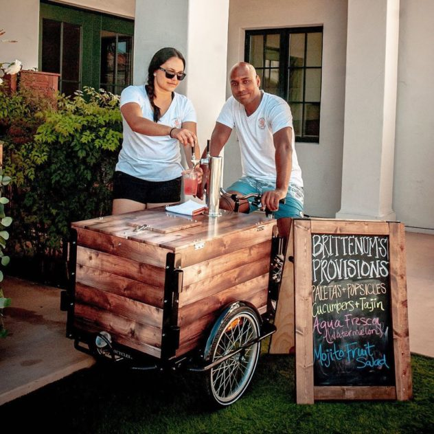 cold brew coffee vending bike, icicle tricycles, marketing custom trike