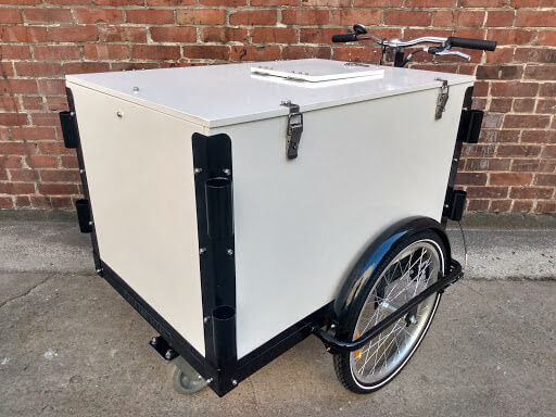 vending pushcart, push cart, food, ice cream cart, customizable, beverages, icicle tricycles