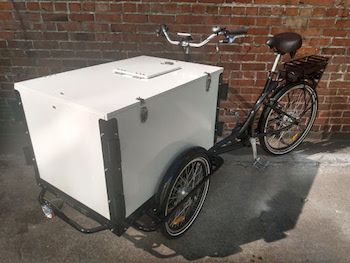 e-assist trike, icicle tricycles, mobile vending bike, ice cream, beverages, food, electric assist, pedal